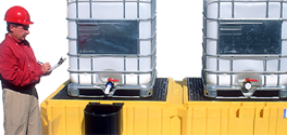 Ultra-Twin IBC Spill Pallet