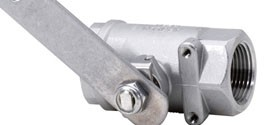 Haws SP265 Stay-Open Stainless Steel Ball Valve Assembly