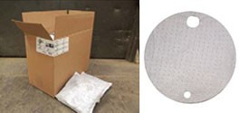 Oil Absorbent Pillows and Drum Top Covers