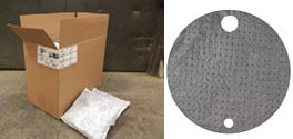 Universal Absorbent Pillows and Drum Top Covers